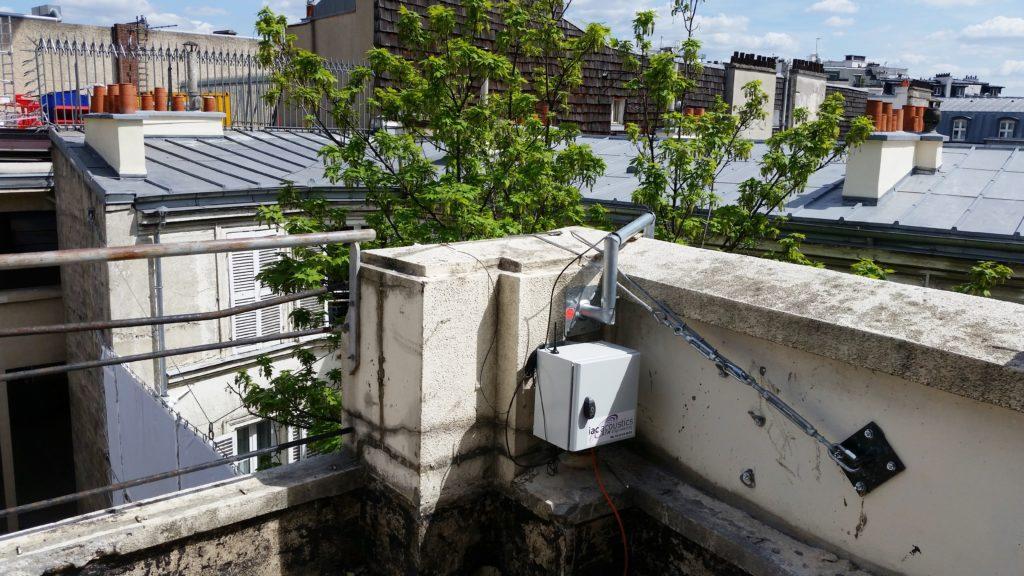 Système de surveillance acoustique sur chantier