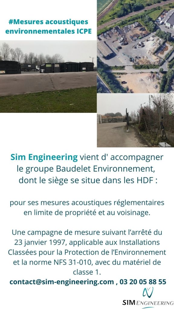 mesures acoustiques environnement ICPE