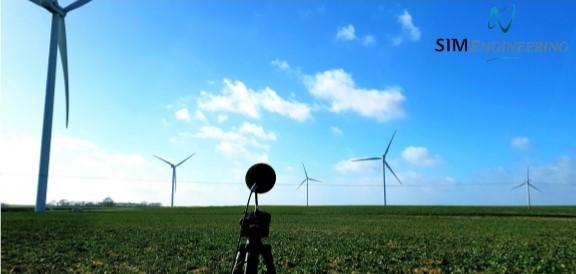 Sequence de mesure réception acoustique parc éolien