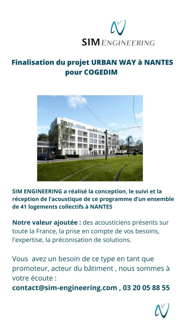 acoustique logement par Sim Engineering